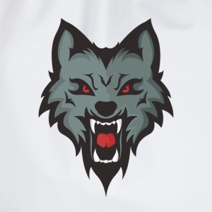 Wolf Mascot T-Shirts - Drawstring Bag