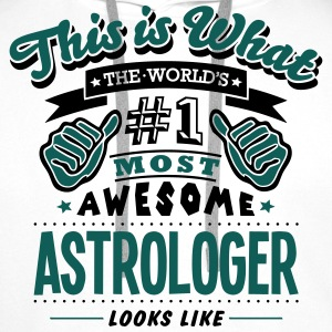 astrologer world no1 most awesome - Men's Premium Hoodie