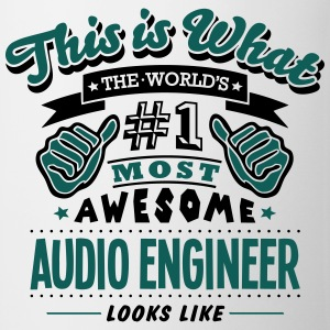 audio engineer world no1 most awesome co - Mug