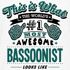 bassoonist world no1 most awesome - Men's Premium Longsleeve Shirt