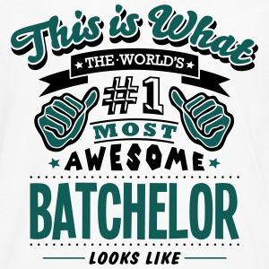 batchelor world no1 most awesome - Men's Premium Longsleeve Shirt