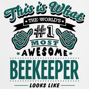 beekeeper world no1 most awesome - Cooking Apron