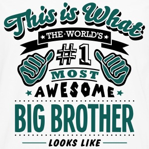 big brother world no1 most awesome - Men's Premium Longsleeve Shirt