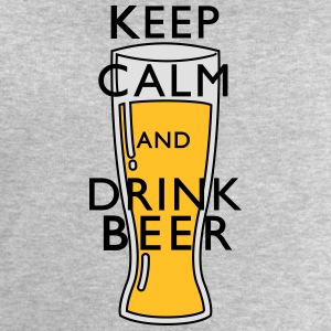 keep calm Beer Tee shirts - Sweat-shirt Homme Stanley & Stella