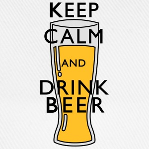 keep calm Beer Tee shirts - Casquette classique
