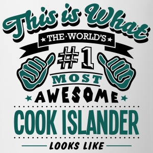 cook islander world no1 most awesome cop - Mug