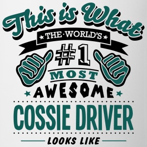 cossie driver world no1 most awesome cop - Mug