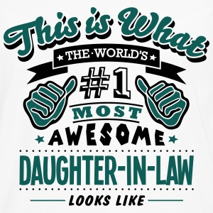 daughterinlaw world no1 most awesome cop - Men's Premium Longsleeve Shirt