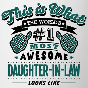 daughterinlaw world no1 most awesome cop - Mug