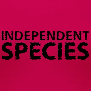 Independent species Tops - Frauen Premium T-Shirt