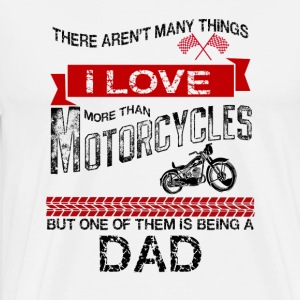 This Dad Loves Motorcycles Tank Tops - Men's Premium T-Shirt