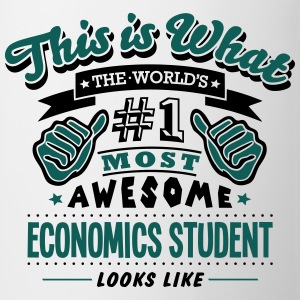 economics student world no1 most awesome - Mug