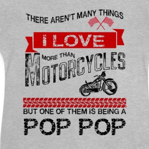 This Pop Pop Loves Motorcycles Shirts - Baby T-Shirt