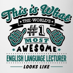 english language lecturer world no1 most - Mug