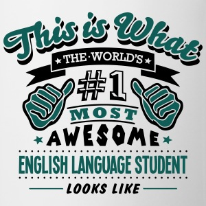 english language student world no1 most  - Mug