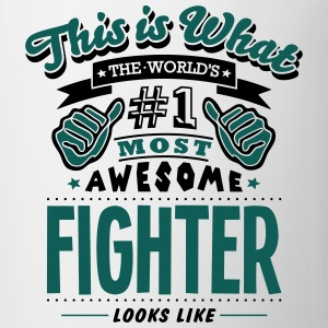 fighter world no1 most awesome - Mug