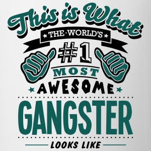 gangster world no1 most awesome - Mug
