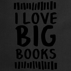 I Love Big Books Camisetas - Delantal de cocina