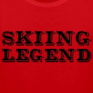 Skiing Legend premium hoodie - Men's Premium Tank Top