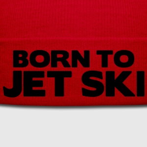 born to jet ski premium hoodie - Winter Hat