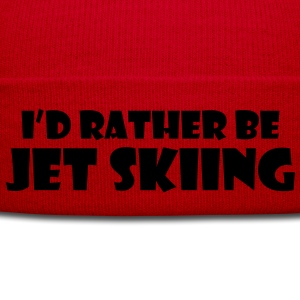 id rather be jet skiing premium hoodie - Winter Hat