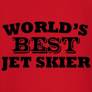 worlds best jet skier premium hoodie - Baby Long Sleeve T-Shirt