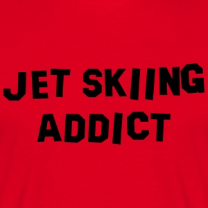 jet skiing addict 01 premium hoodie - Men's T-Shirt
