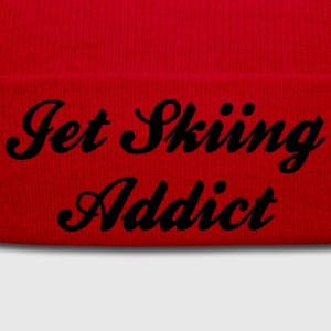 jet skiing addict premium hoodie - Winter Hat