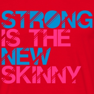 strong is the new skinny premium hoodie - Men's T-Shirt
