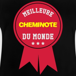 Cheminot / Train / Rail / Transport / SNCF / RATP Tee shirts - T-shirt Bébé