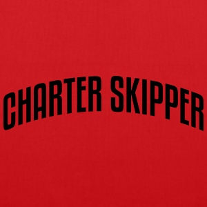 charter skipper stylish arched text logo premium h - Tote Bag