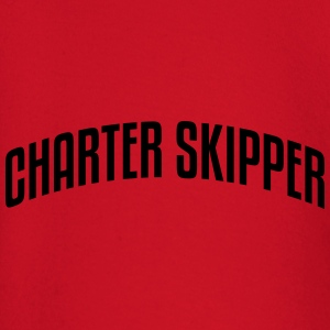charter skipper stylish arched text logo premium h - Baby Long Sleeve T-Shirt