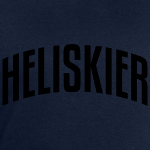 heliskier stylish arched text logo premium hoodie - Men's Sweatshirt by Stanley & Stella