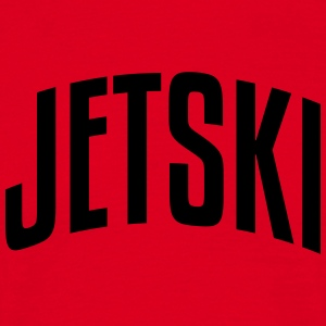 jetski stylish arched text logo premium hoodie - Men's T-Shirt