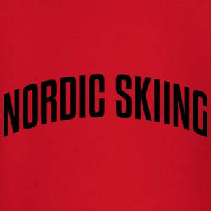 nordic skiing stylish arched text logo c premium h - Baby Long Sleeve T-Shirt