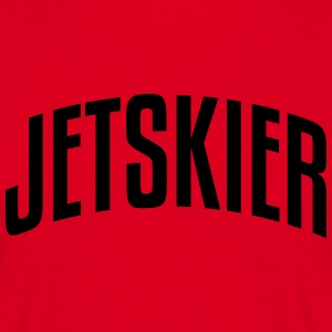 jetskier stylish arched text logo premium hoodie - Men's T-Shirt