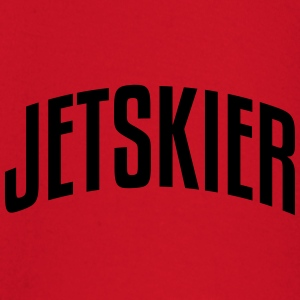 jetskier stylish arched text logo premium hoodie - Baby Long Sleeve T-Shirt