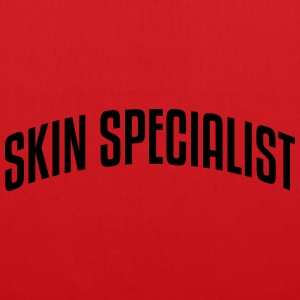skin specialist stylish arched text logo premium h - Tote Bag