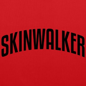 skinwalker stylish arched text logo premium hoodie - Tote Bag