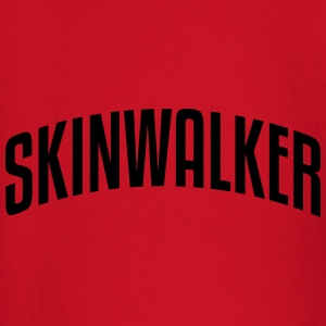 skinwalker stylish arched text logo premium hoodie - Baby Long Sleeve T-Shirt