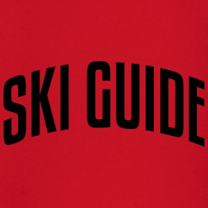 ski guide stylish arched text logo premium hoodie - Baby Long Sleeve T-Shirt