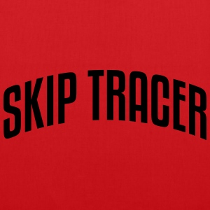 skip tracer stylish arched text logo cop premium h - Tote Bag