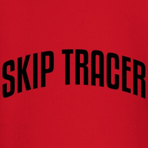 skip tracer stylish arched text logo cop premium h - Baby Long Sleeve T-Shirt