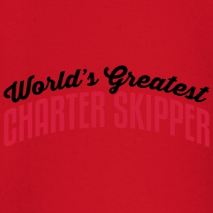 worlds greatest charter skipper 2col cop premium h - Baby Long Sleeve T-Shirt