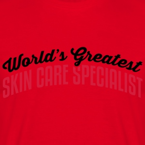 worlds greatest skin care specialist 2co premium h - Men's T-Shirt