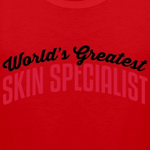 worlds greatest skin specialist 2col cop premium h - Men's Premium Tank Top