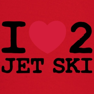 i_love_heart_2_jet_ski premium hoodie - Baby Long Sleeve T-Shirt