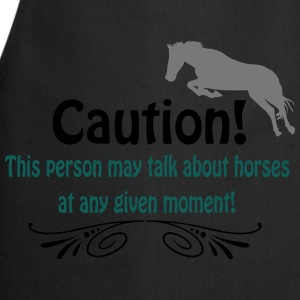 Funny horse quote Tops - Cooking Apron