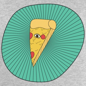 Pizza illuminati - Sweat-shirt Homme Stanley & Stella