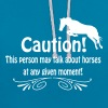 Funny horse quote Hoodies & Sweatshirts - Contrast Colour Hoodie